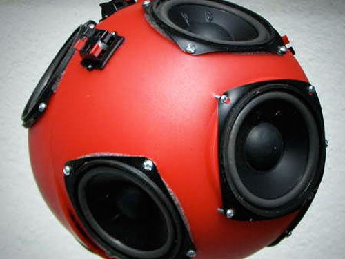 Make a Spherical Speaker Array On the Cheap