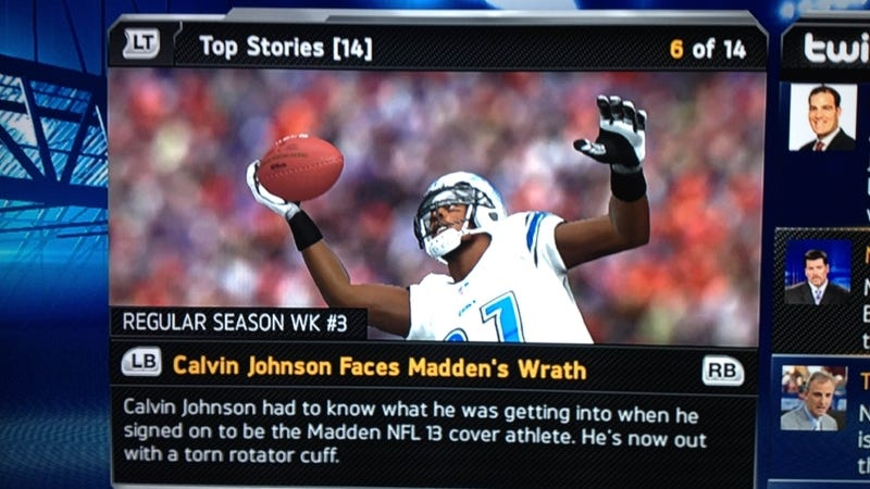 We Put a Madden Curse in Your Madden