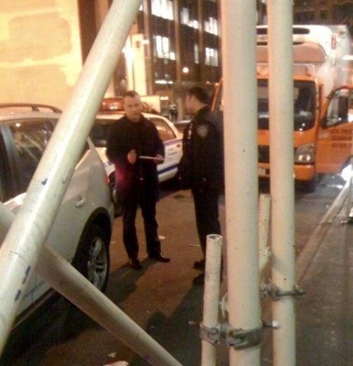 Liev Schreiber Gets Slammed in the Rear