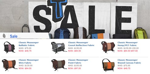 Dealzmodo: Huge Timbuk2 Bag Sale