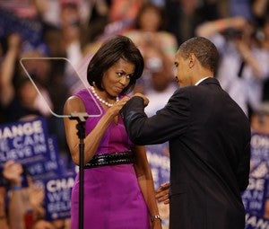 Barack Vs. Michelle? Everything's A Contest