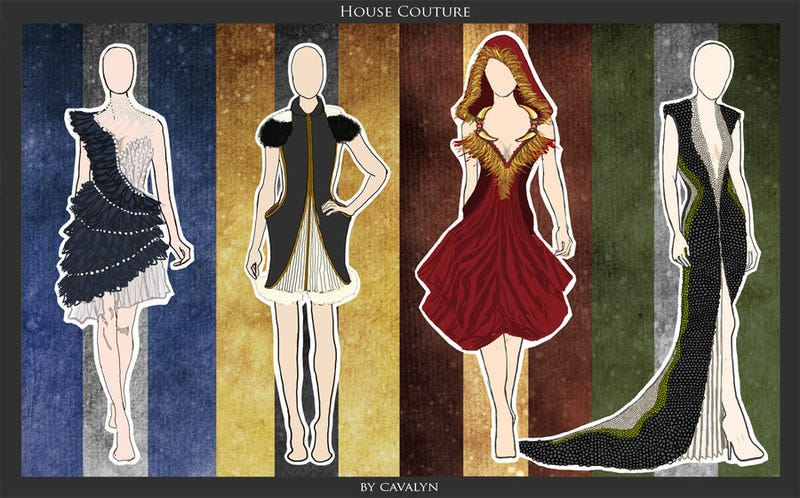 Stunning Hogwarts-themed dresses are high fashion magic