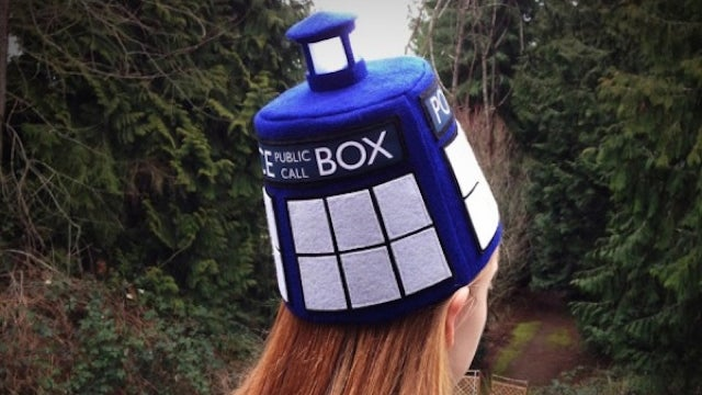 I have a light-up TARDIS fez now, light-up TARDIS fezzes are cool
