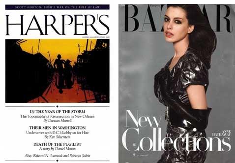 The Harper's (Bazaar) Index — July 2007