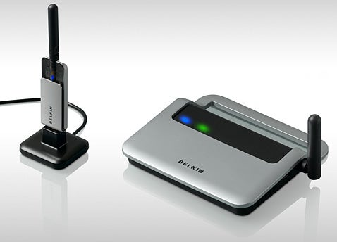 Belkin Wireless USB Hub Is All Dressed Up, No Place to Go