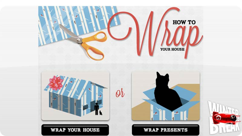 How Much Would It Cost To Gift Wrap an Entire House?