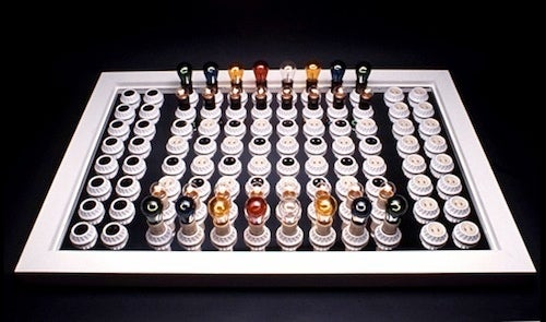 Electric Chess Set is Beautifully Vintage
