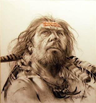 Sexy Neanderthals Wore Feathers