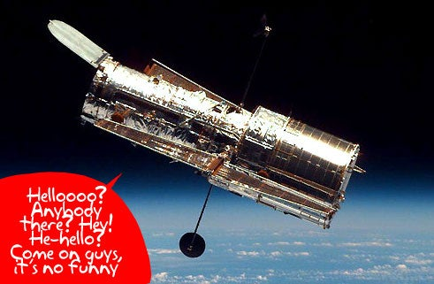 Hubble Telescope Communication Breaks Down, Plot Thickens
