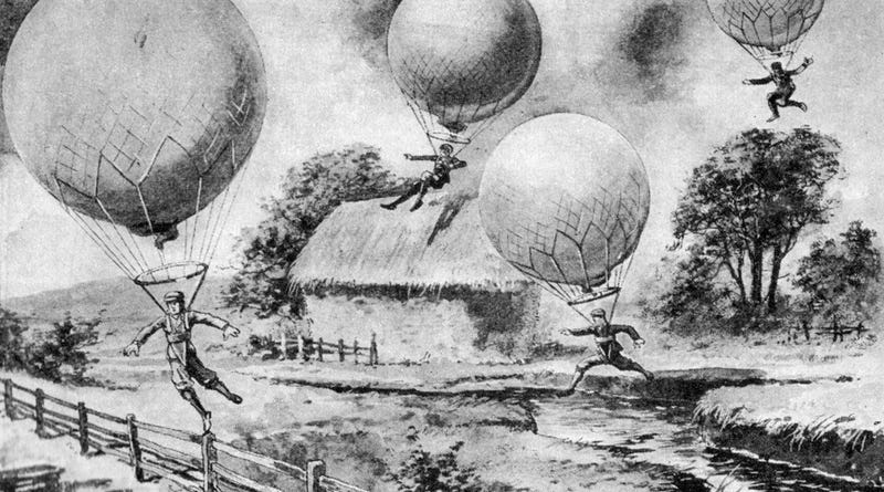 Balloon Jumping: Yesterday's Fun (and Dangerous) Sport of the Future