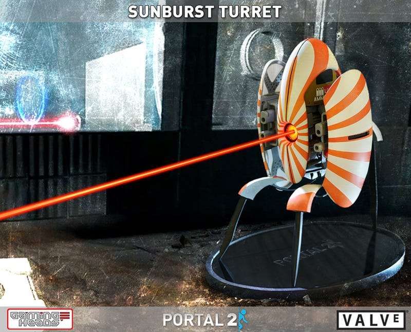 The Sunburst Turret Statue Is Portal Collectors' Only Sunshine