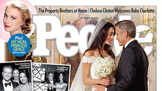 Gaze Upon Amal Alamuddin's Glorious Wedding Dress (and George Clooney)