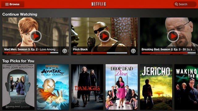 Netflix Android App Update Includes New User Interface, Better Tablet Support