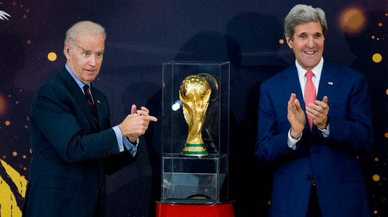 Joe Biden Is Friggin' Thrilled to Be Attending the World Cup