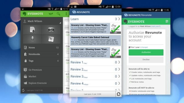 Revunote Turns Your Android Into a Memory-Boosting Learning Tool
