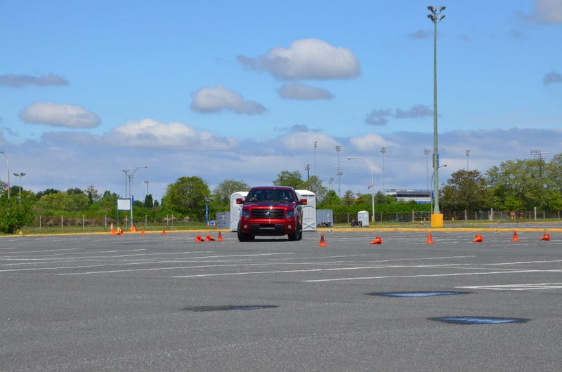 We Took A Ford F-150 Autocrossing And We Didn't Die