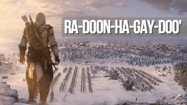Here's How To Pronounce The Name of Assassin's Creed III's Protagonist