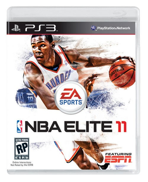 Kevin Durant Gets the Cover of NBA Elite 11