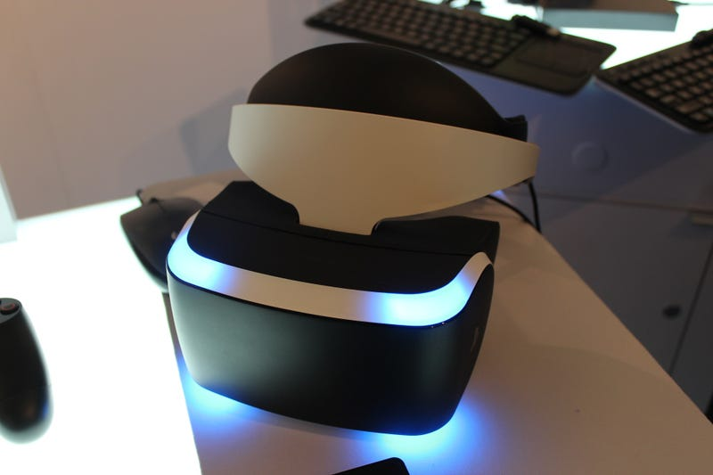​We Tried Sony's PS4 Virtual Reality Headset. We Like It.