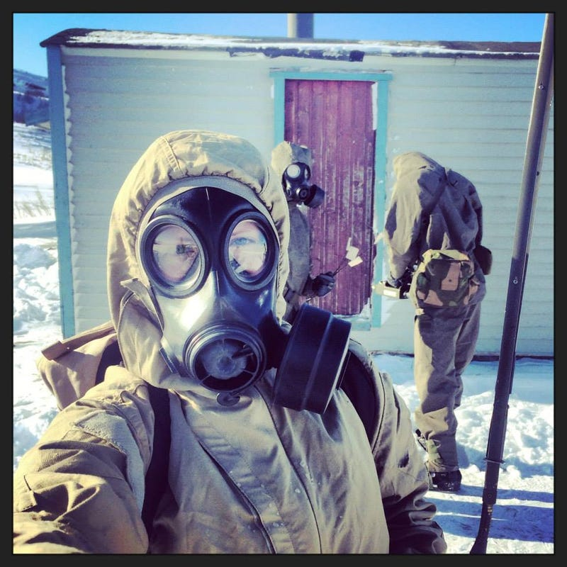 Apparently the Norwegian Armed Forces had a selfie contest