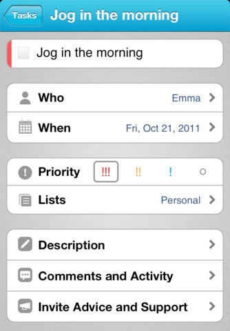 Astrid To-Do App Gallery