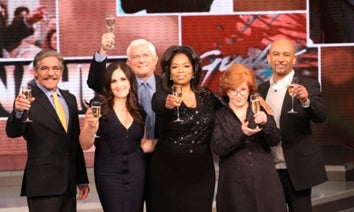Oprah's Talk Show Airing A Salute To Talk Shows