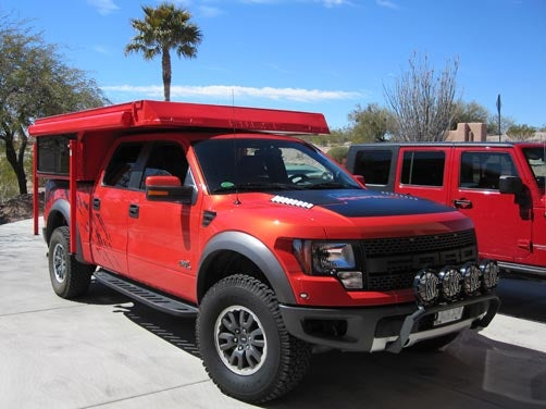 Now you can finally live in your Ford Raptor