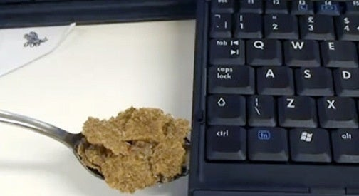 Cereal Spoon USB Drive Was Once Edible