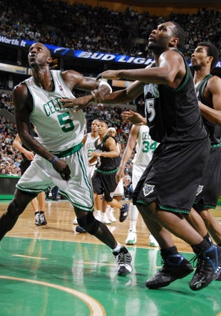 You Can't Stop Garnett, You Can Only Hope A Sniper's Shot Slows Him Down