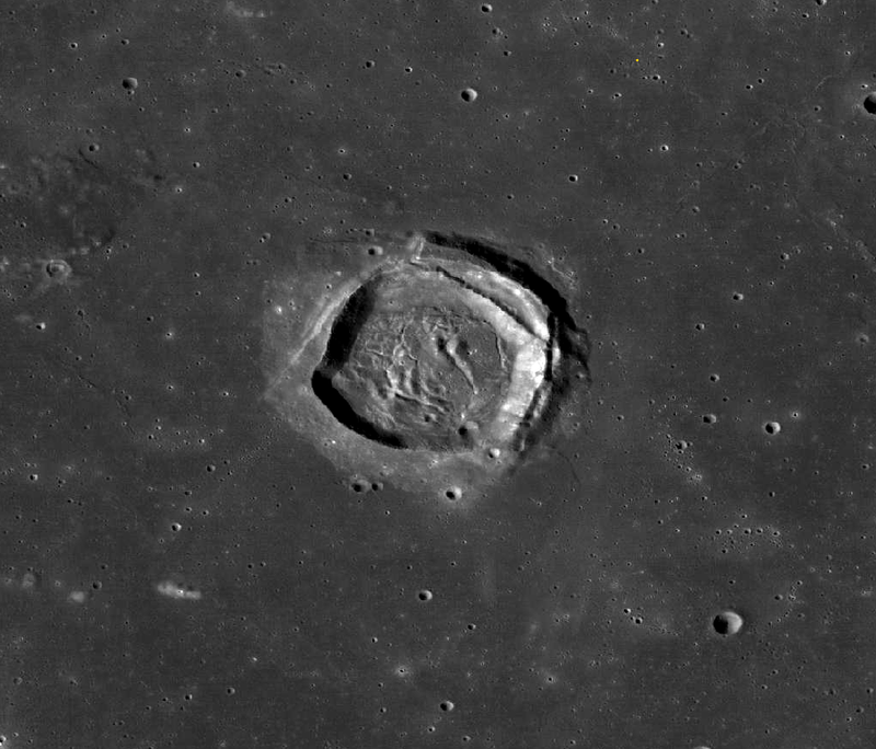Why are there square craters forming on the Moon?
