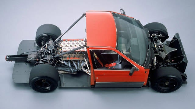 This is an F1-powered Alfa Romeo 164
