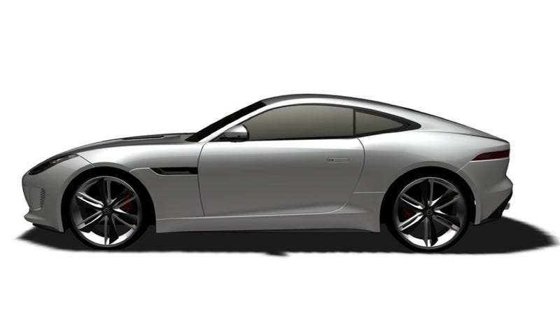Jaguar F-Type Coupe Kind Of Revealed In Patent Filing
