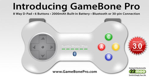 Gamebone Valiantly Tries to Improve iPhone Gaming