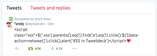 How Yesterday's Huge TweetDeck Vulnerability Happened