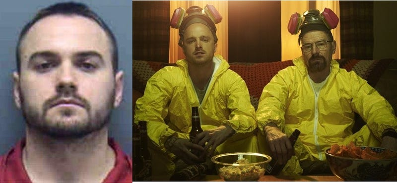 Breaking Bad Fan Who Partied With Show's Stars Arrested on Drug Charges