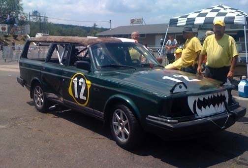 24 Hours Of LeMons New England Underway: Peugeot, Datsun 510, Citation Broken Already