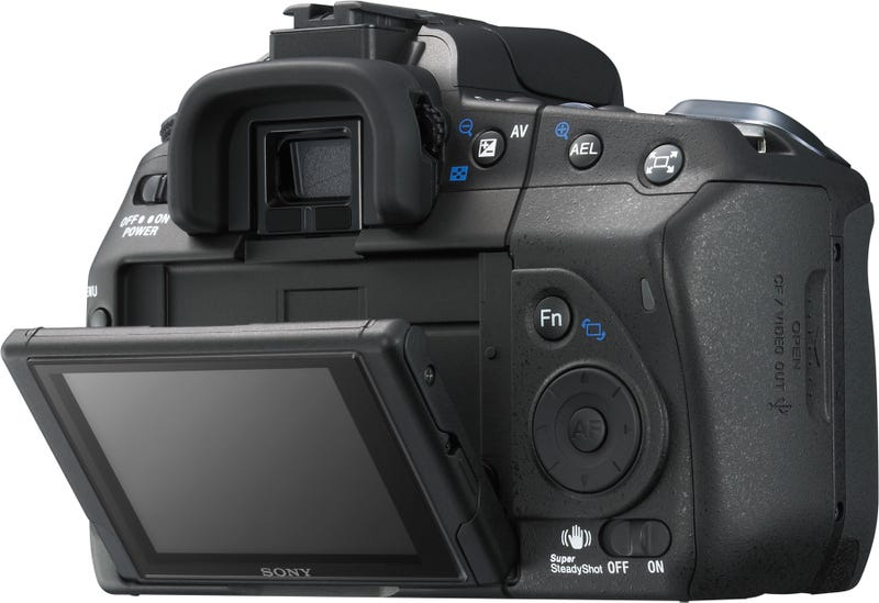 Sony A300 and A350 DSLRs Have Two-Way Tilting Live View