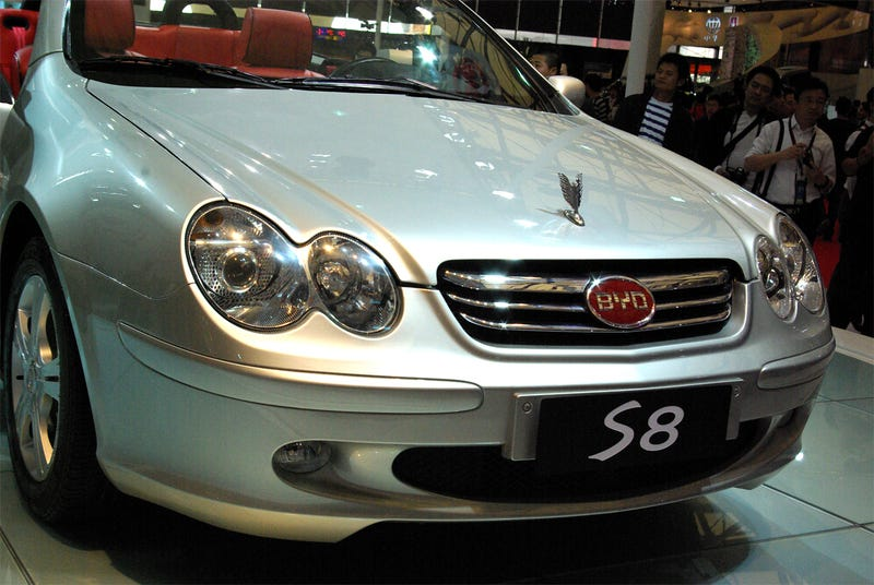 BYD B8 Convertible: Impending Doom Never Looked So Good, SL-like