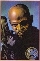 One-Eyed Samuel L. Jackson Smokes Cigars In Iron Man