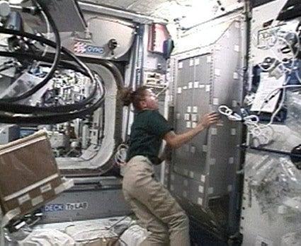 Toilet Triumph in Space!