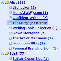 How Do You Organize Your RSS Feeds?