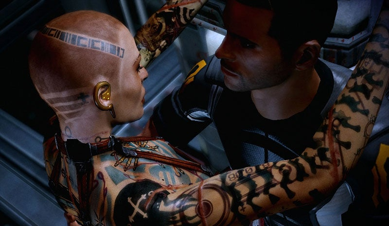 What Makes Mass Effect 2 'Mature'? Future Blouses, Alien Pole Dancing & Drugs