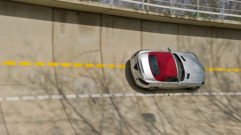 Mercedes-Benz SLS AMG Convertible: Development Photos