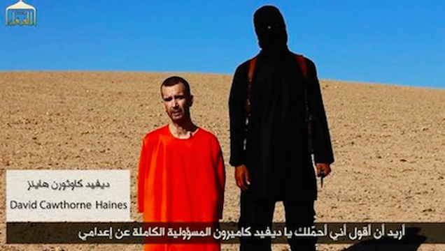 ISIS Beheads British Aid Worker in Video Message to David Cameron