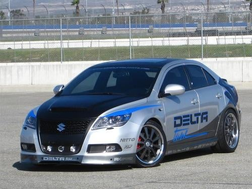 Quartet Of Tarted-Up Suzukis Aimed At SEMA