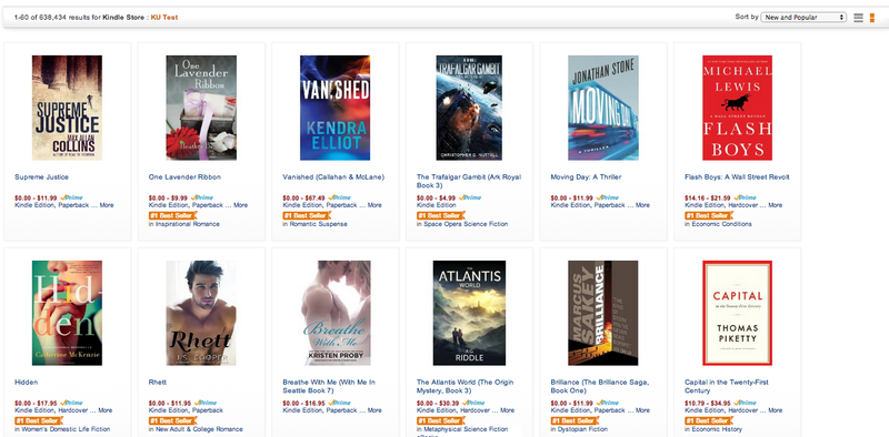 """Amazon's Prepping a """"Kindle Unlimited"""" Subscription Service For Books"""
