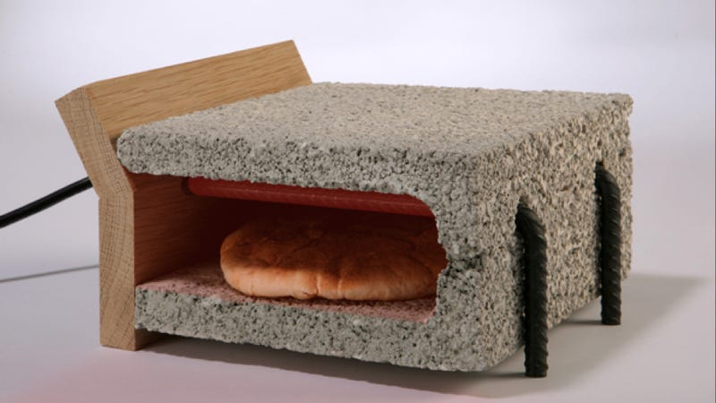 Toast Your Bread With Cinder Blocks and Rebar