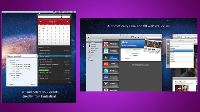 Grab Fantastical and 1Password for Mac for 50% Off