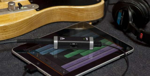 Studio-Quality Guitar Input for GarageBand on iPad or Mac Costs Under $100