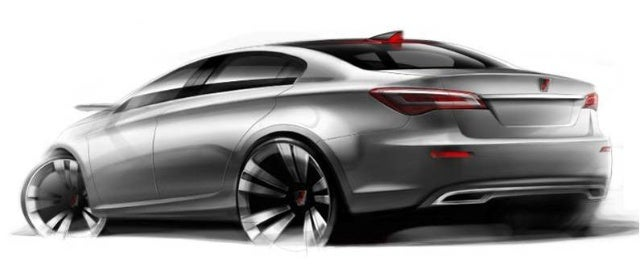 Roewe N1 Concept Sketches Preview Shanghai Debut